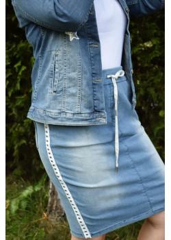 Spódnica ołówkowa jeansowa
