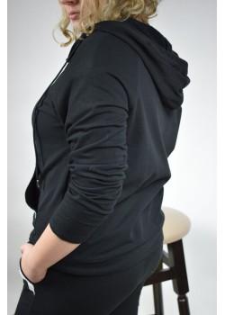 Bluza dresowa z cerkoniami