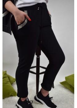 Spodnie dresowe z cerkoniami