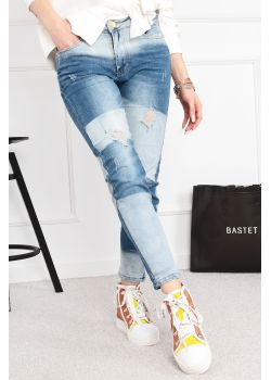 Spodnie jeansy Bastet