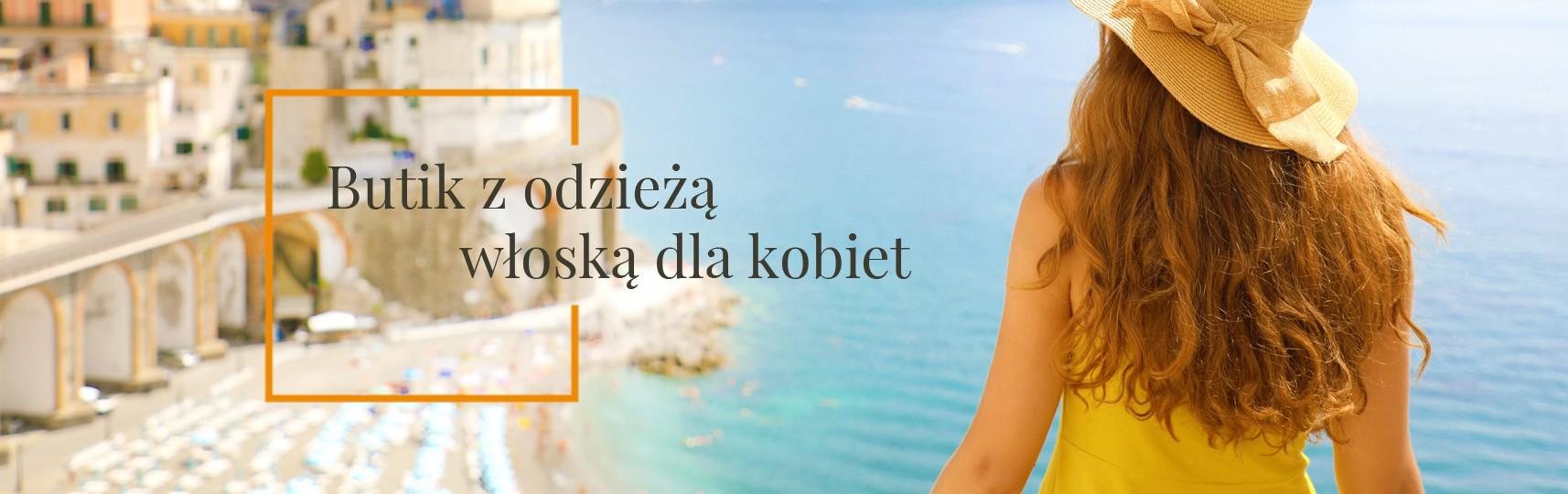 Butik z odzieżą włoską dla kobiet